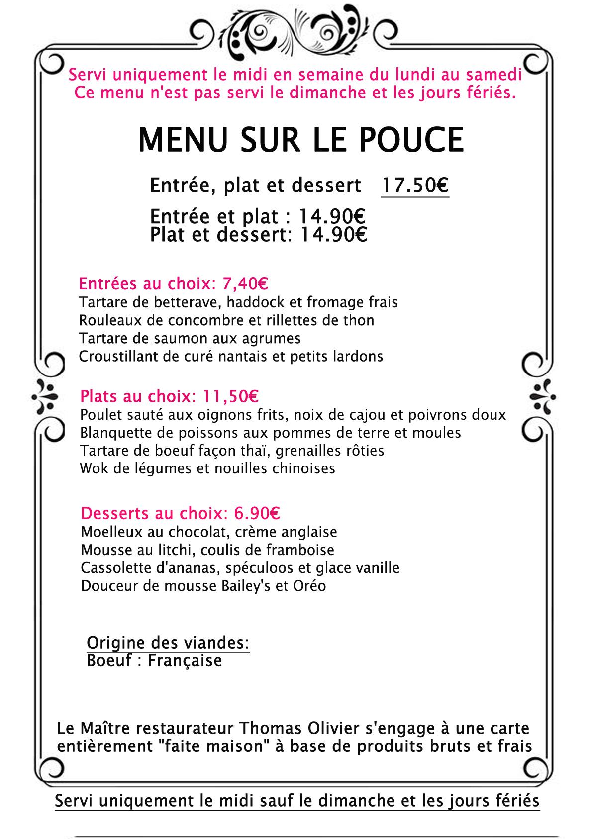 Restaurant Pornic Fruit De Mer