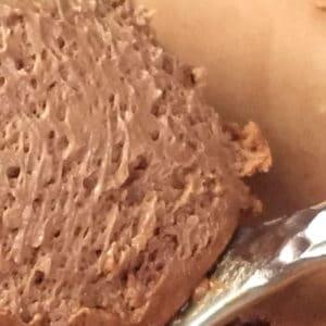Craquelin, mousse chocolat Dulcé, crème anglaise vanille