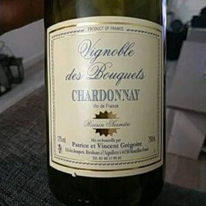 Chardonnay Les Bouquets, récolte tardive